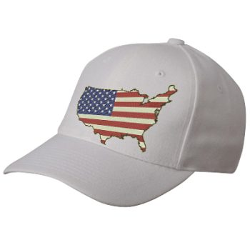 America Flag Logo Digitizing for Cap Embroidery for Sale -Independence Day 2019