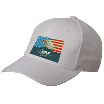 Eagle USA 4th July Independence Day Flag Embroidery Design for Cap on Sale 2019
