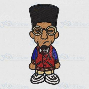 Buy Cool Cartoon Boy Digitized design for Machine Embroidery Online