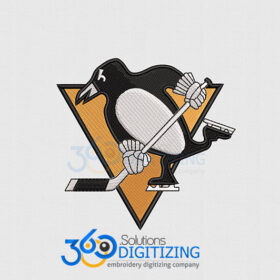Penguins-Jacket-Back-Logo-Digitized-for-Machine-Embroidery-By-360-Digitizing-Solutions